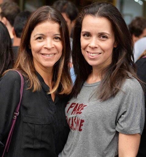 Marta Lahtermaher e sua irmã Renata Franco: sócias da Valen, grife que está fechando as portas no edifício Palm Beach / Foto: Ari Kaye