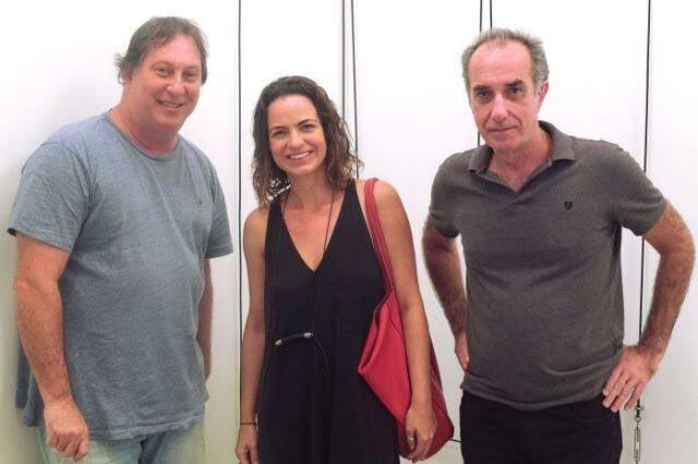 Bob N, Anna Helena Cazzani e Ricardo Becker