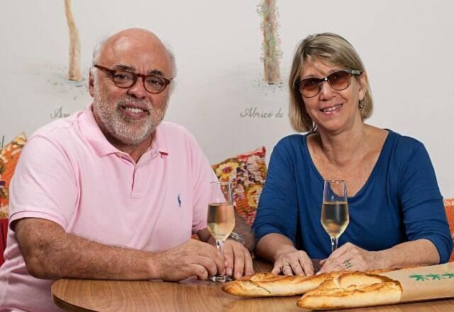 Janjão Garcia e Celina Sá Lessa: a dupla está junta nessa primeira filial da Carandaí / Foto: Rodrigo Azevedo