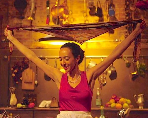 Valeria Arbex, atriz da peça, também vai comandar oficina de culinária árabe, dias 13, 15 20 e 22. no SESC Copacabana / Foto: Lenise Pinheiro