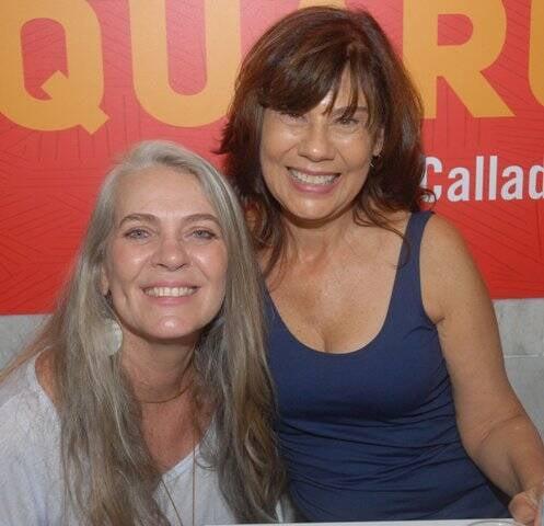 Cristina Oldemburg e Mirian Goldenberg