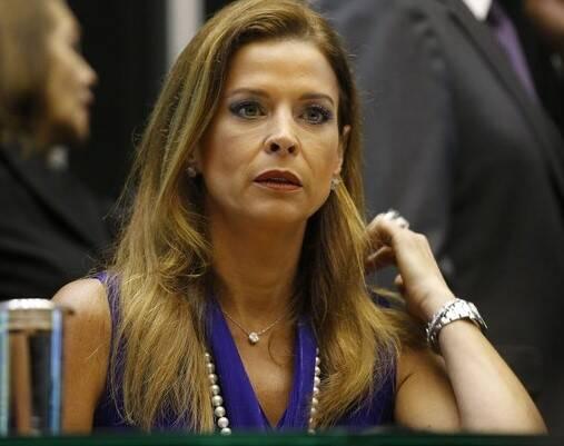 Cláudia Cruz: fez-se silêncio na página da jornalista Cláudia Cruz, mulher do ex-deputado Eduardo Cunha, nesta terça-feira, um dia depois da cassação do marido / Foto: Dida Sampaio - Estadão conteúdo (imagem adquirida pelo IG)