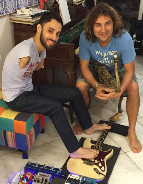 Johnatha Bastos e Rodrigo Sha: os dois músicos tocam na terça-feira (13/09), na Casa da Alemanha, na Barra / Foto: divulgação