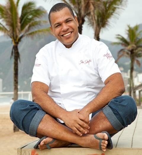 O chef Jan Santos assina o almoço carioca do evento Gastronômade, no domingo (11/09) / Foto: divulgação