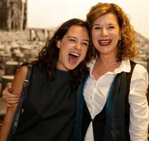 Julia Bernat e Carla Ribas