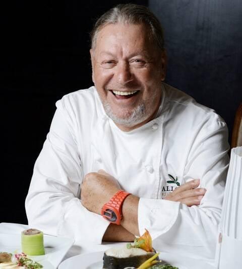Luciano Boseggia: chef italiano pediu ajuda dos colegas de profissão para ajudar seus conterrâneos vítimas do terremoto de agosto / Foto: Camilla Maia
