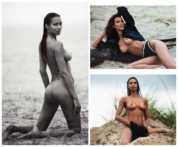 """Laís Ribeiro: a brasileira posou, na edição de setembro da revista francesa """"Lui"""", para o fotógrafo David Bellemere / Foto: reprodução"""
