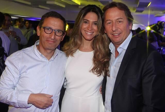 O diretor financeiro mundial Michel Wolfovski com o casal Simone Cavaliere e Janyck Daudet (ele, diretor da América Latina do Club Med) / Foto: Paulo de Deus