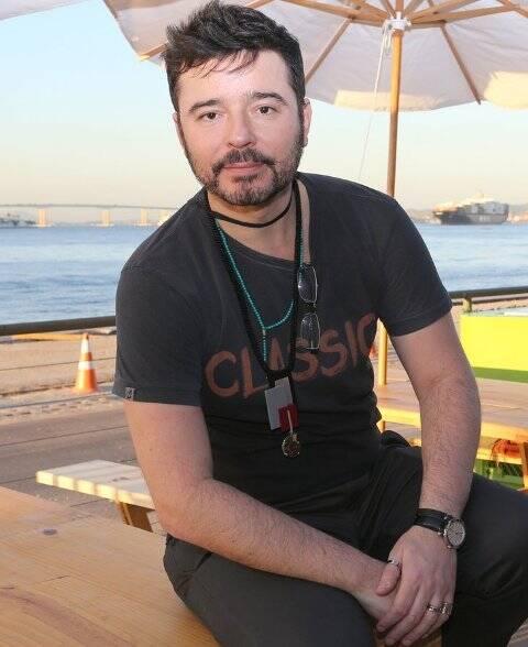 O curador Carlos Tufvesson, na primeira edição do Rio Moda Rio, em junho / Foto: Reginaldo Teixeira