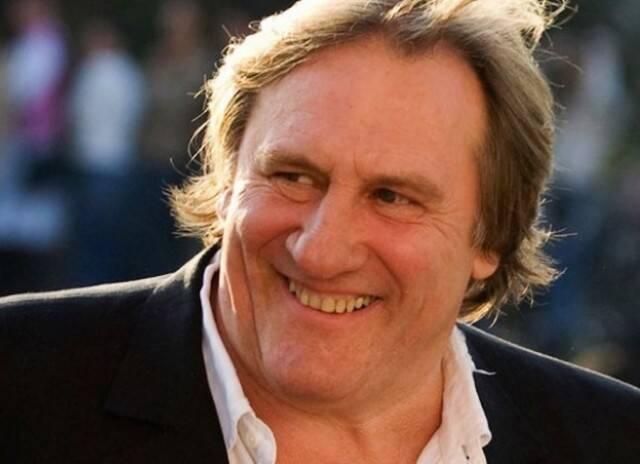 O ator Gérard Depardieu chega, neste sábado, para uma visita curta ao Rio / Foto: reprodução da internet