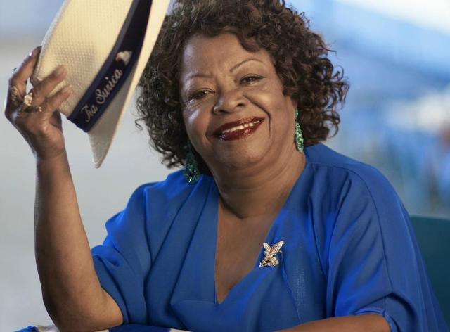 Tia Surica: sambista e cozinheira, ela retoma sua feijoada no próximo sábado, no Centro do Rio / Foto: divulgação