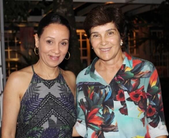 Alessandra Marins e Nina Braga