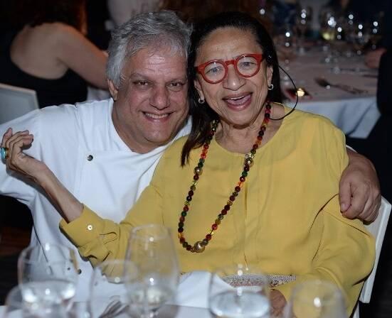 Edinho Engel e Licia Fabio