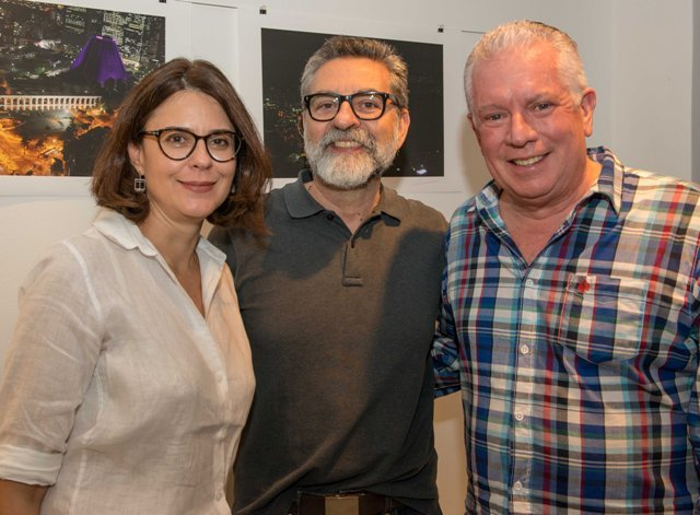 Ines Benévolo, Ivan Resende e Chicô Gouvêa