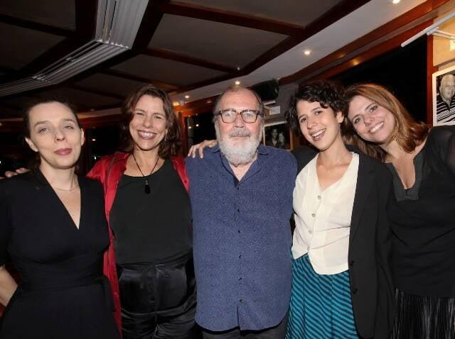 Isabel Diegues, Renata Magalhães, Cacá, Flora e Júlia Diegues -IMG_2421