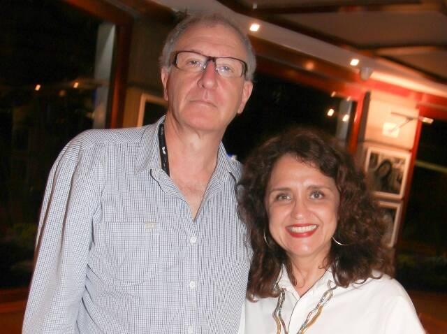 Nelson Krumholz e Ilda Santiago, diretores do Grupo Estação -IMG_2378