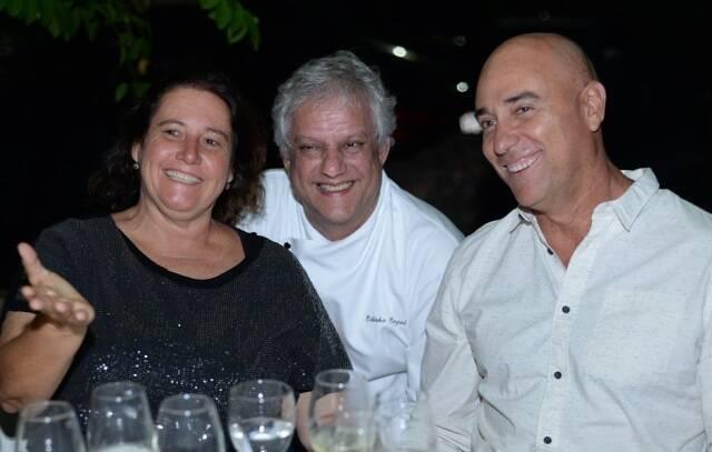 Ró Imbassahy e Aloisio Melo com Edinho Engel