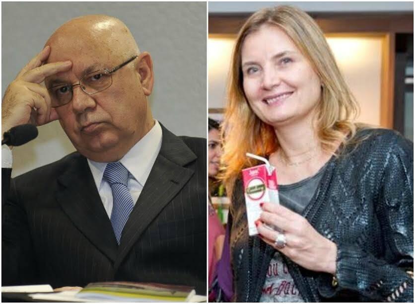 Teori Zavascki e Liliana Schneider: nova namorada do ministro do STF vive no Rio há muitos anos / Foto: IG e Mariana Vianna (arquivo site Lu Lacerda)