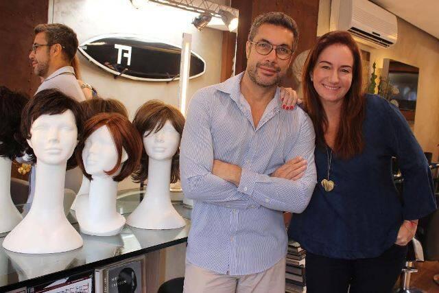 Fernando Torquatto e Daniela Fiszpan / Foto: divulgação