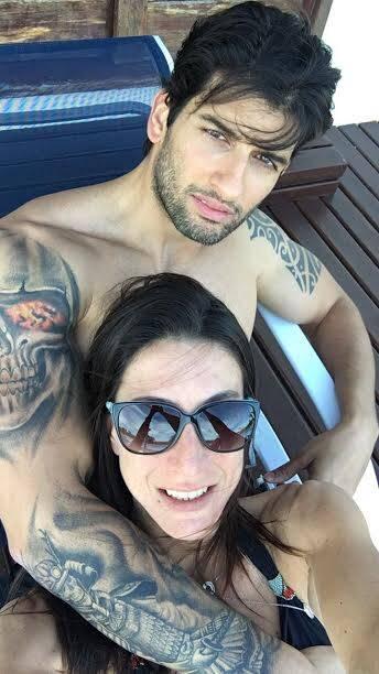 Maria Antonia Marinho e Irano Souto: casal está morando junto depois de um ano e meio de namoro