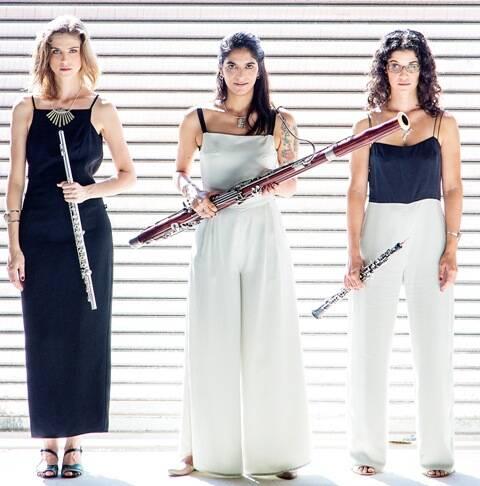 O Trio Capitu: / Foto: Leo Aversa