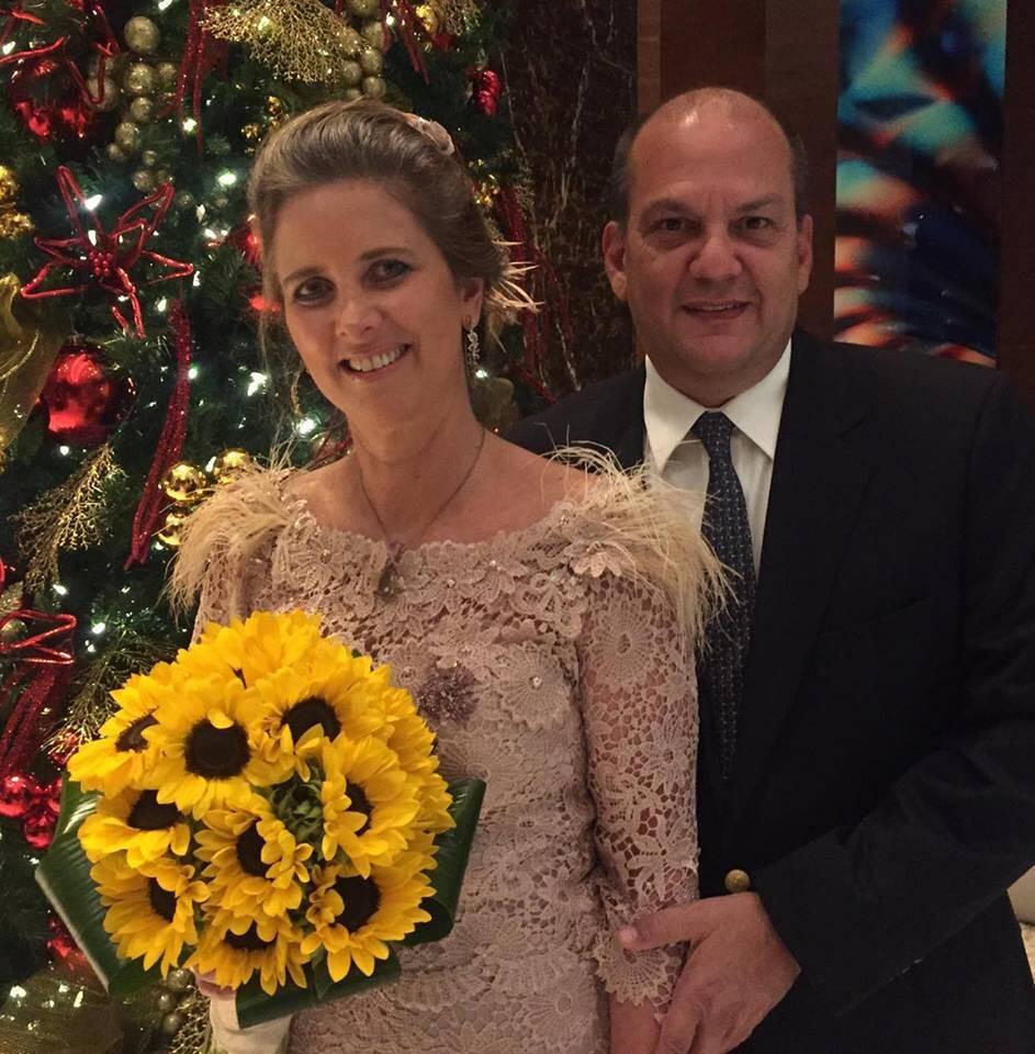 Kika Gama Lobo e Alberto Eduardo de Vasconcellos Levier: casamento em Miami / Foto: Flavia Wesley