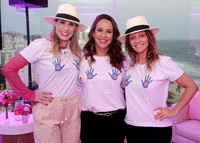 Leticia Levy, Marcia Linhares e Alessandra Grochko
