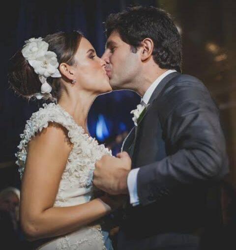 Alexia Mayer e Gabriel Prisco: noiva do interior de São Paulo comprou o vestido / Foto: arquivo Site Lu Lacerda