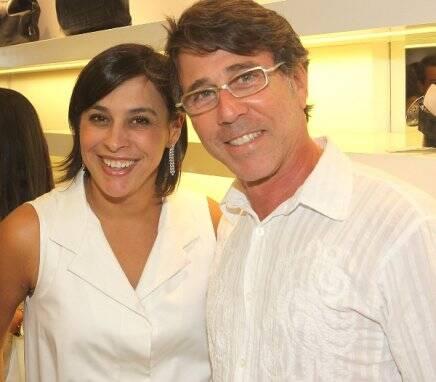 No alto, Adriana Ancelmo com Patrícia Mayer; no centro, com a dra. Rosa Célia; acima, com Jairo de Sender / Fotos: Murillo Tinoco e Geraldo Valadares (acervo do site Lu Lacerda)