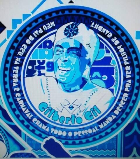 Gilberto Gil vai ser o tema do desfile
