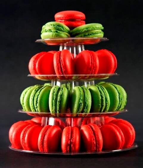 Macarons em clima de Natal: a chef Carla Daudt vai dar curso rápido nesta quinta-feira, na Gávea / Fotos: Leo Aversa