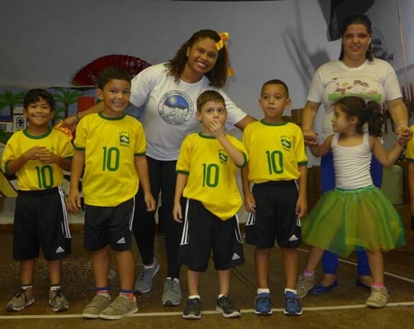 As crianças atendidas pelo Instituto Marquês de Salamanca