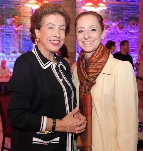 Dalal Achcar e Ana Botafogo