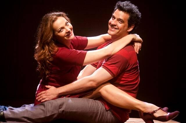 Alexandra Richter e Bruno Garcia foram o casal Lena e Edu na peça História de Nós 2 / Foto: Divulgação
