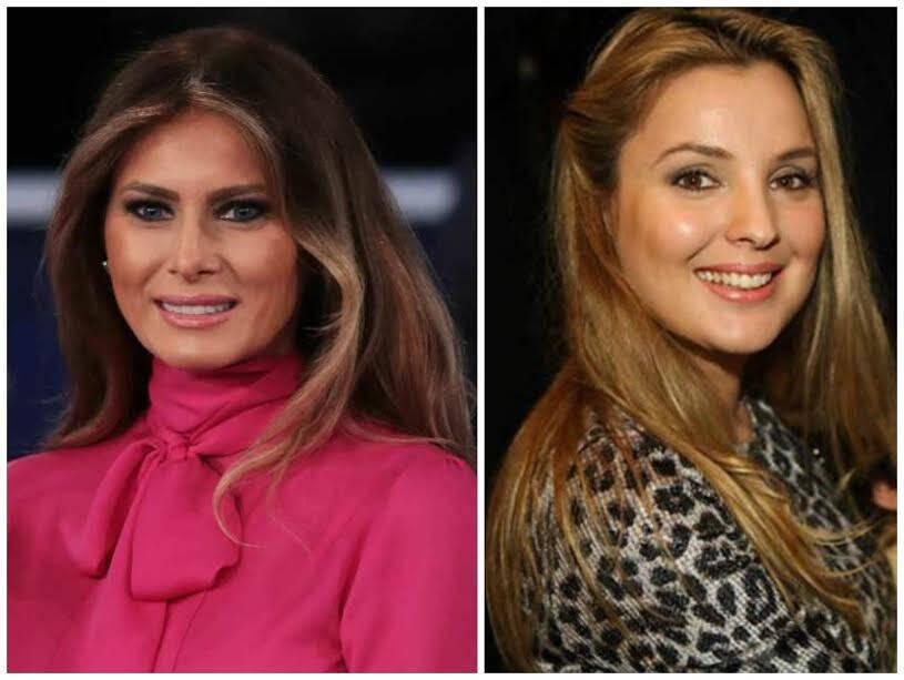 Melania Trump e Marcela Temer: esse deve ser o único item em que o Brasil empata com os Estados Unidos. As semelhanças vão além das iniciais? Fotos: reprodução IG