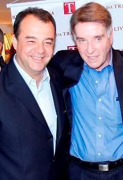 Sérgio Cabral e Eike Batista: o empresário é acusado de pagamento de US$ 16,5 milhões ao ex-governador / Foto: Paulo Jabur (arquivo Site Lu Lacerda)