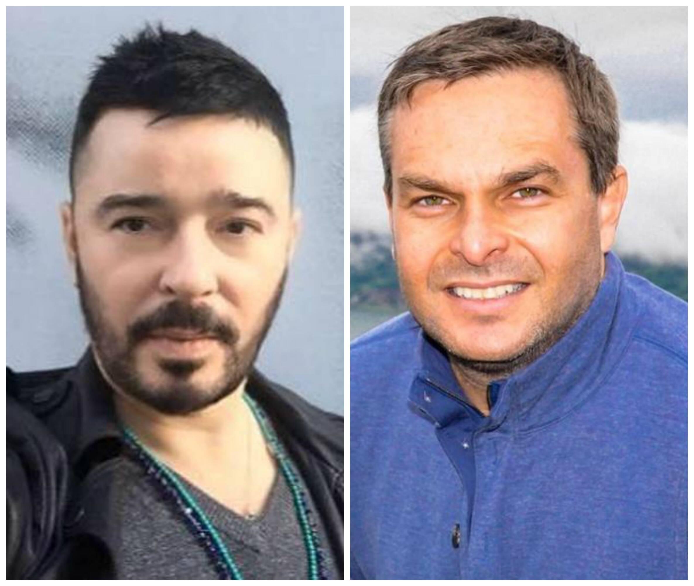 Carlos Tufvesson e Ricardo Brajterman: os dois prometeram ajuda ao casal