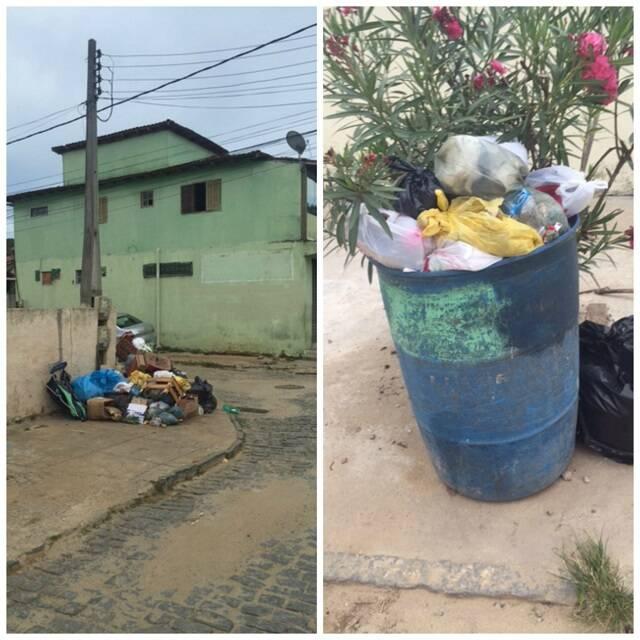 Os turistas brasileiros e estrangeiros reclamam da quantidade de lixo nas ruas de Búzios