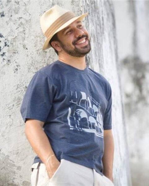 Daniel Pereira, vencedor do concurso de marchinhas da Fundição Progresso de 2016: criatividade de sambista agora a serviço das campanhas da Prefeitura / Foto: reprodução