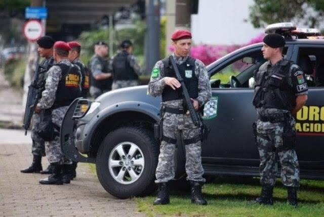 Exército nas ruas do Rio: apesar do pedido do governador Pezão, a permanência das Forças Armadas só vai até esta quarta-feira (22/02) Fotos: Robson Alves - Brigada Militar