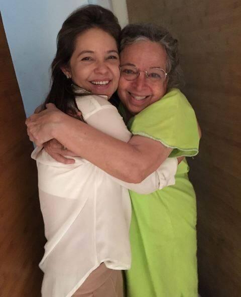Denise Barcellos e Camilla Amado