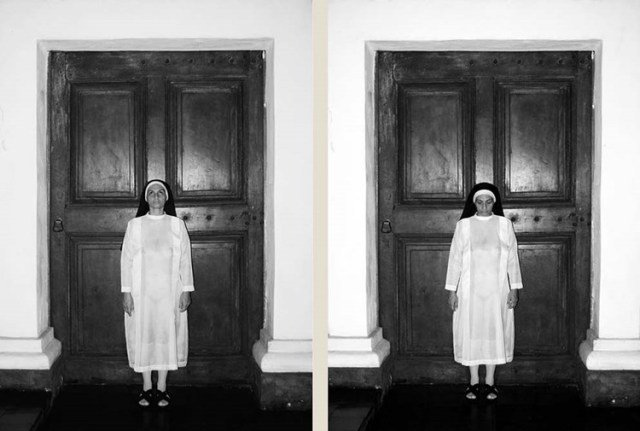 """Três trabalhos de Berna Reale: o alto, o vídeo """"Americano""""; no centro, """"Cantando na chuva"""", e, acima, """"Sim, senhor"""" / Fotos: divulgação"""