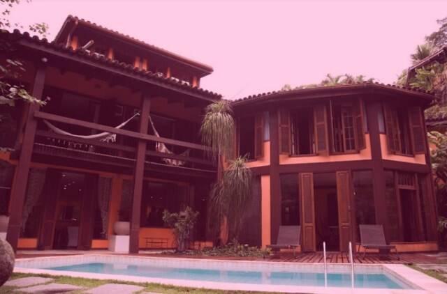 Casa de Arnaldo Brenha no Joá: quartel-general para transmissão do Grammy pelo site POPline / Foto: divulgação
