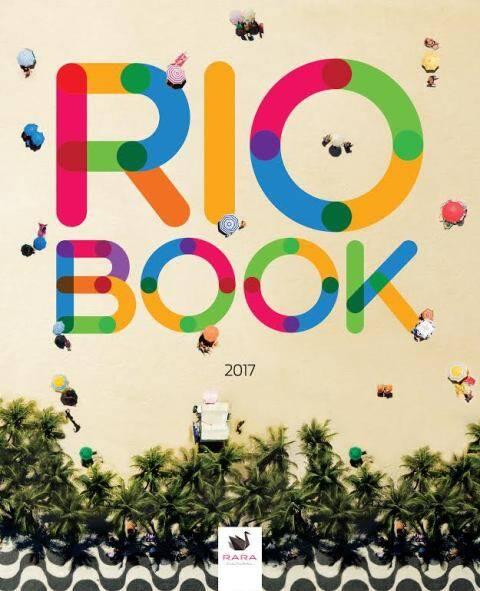 A capa do RioBook 2017: lançamento é nesta terça (21/02), no Palácio da Cidade / Foto: divulgação