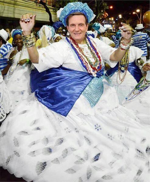 Marcelo Crivella: a ausência do prefeito no carnaval carioca vira montagens de todo tipo nas redes sociais / Foto: reprodução Facebook