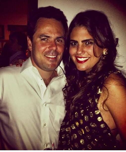 O belo casal Felipe Steinfeld e Maria João Macedo: cerimônia na Praia do Canto, em Búzios, no próximo sábado (11/03)