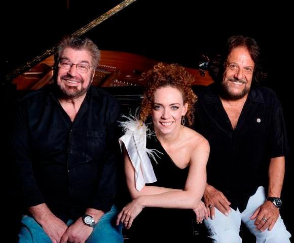 Wagner Tiso, Laila Garin e Tunai: Foto/ José Luiz Pederneiras