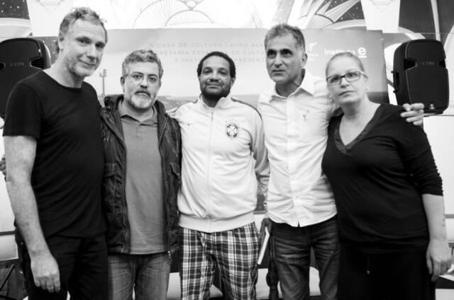 Oskar Metsavaht, Rafael Dragaud, Sidney Silva, André Dais e Renata Carvalho / Foto: divulgação