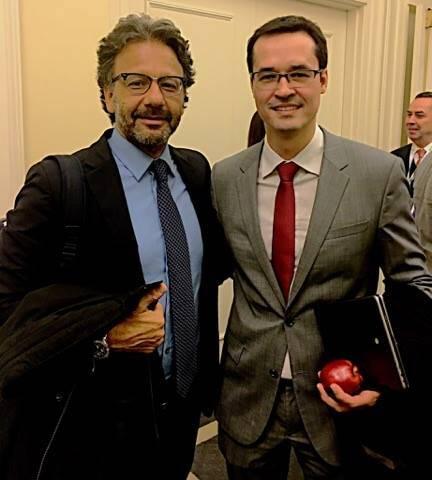 O delegado Federal Jorge Pontes e o procurador Deltan Dallagnol: ninguém, em Harvard, quis comer a maçã da corrupção