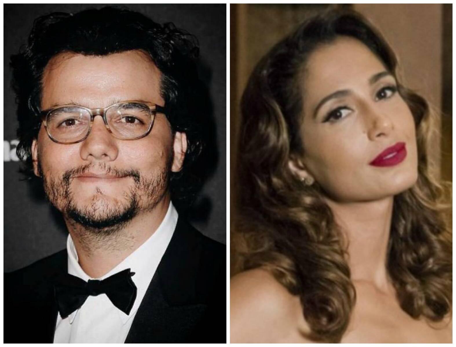 Wagner Moura e Camila Pitanga